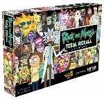 Rick and Morty Total Rickall - Le jeu de cartes